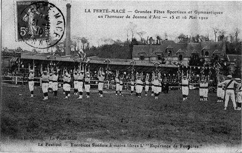Esperance a la ferte mace 1910